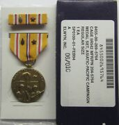 Ww Ii Asiatic Pacific Campaign Medal Set In Gi Issue Box And 1 Arrowhead 1 Star