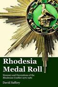 Rhodesia Medal Roll By David Saffery English Paperback Book Free Shipping