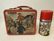 1962 Rare Gunsmoke Lunchbox Hard To Find With Thermos