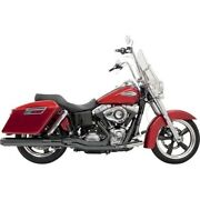 Road Rage 2-into-1 Long Megaphone Exhaust System Bassani Xhaust 1d28rb