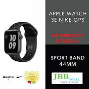 Apple Watch Se Nike 44mm Space Gray Aluminum Case With Anthracite/black Gps
