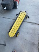 Antique Wooden And Metal Atomic Riding Steer Sled Rare Vintage | Stunning Patina