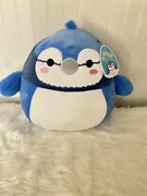 12andrdquo Babs The Bluejay Squishmallow By Kellytoy Bnwt Rare🔥htf New Blue Jay🔥2021