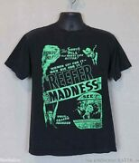 Reefer Madness Movie Poster T-shirt For The 420 Lover With A Sense Of Humor