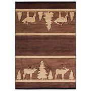 United Weavers Cottage Deering Brown Area Rug 7and03910 X 10and0396