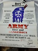 Roy Woodand039s Army Wolverhampton Civic Hall Sunday October 4th Box Office Poster