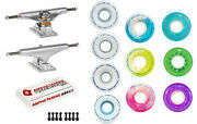 Independent Trucks Ricta Skateboard 78a Clouds Wheels Package Abec 5 Bearings