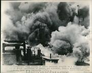 1948 Press Photo Fire Guts A Subsidiary Plant Armour And Co.