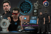 Hot Toys Mms273 Iron Man 1/6th Tony Stark With Arc Reactor Creation Accessories
