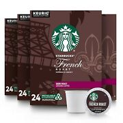 Starbucks French Dark Roast Coffee For Keurig 4 Boxes Of 24 96 Pods Total