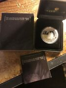 2018 Swan 1 Oz 0.9999 Silver Proof Coin With Coa And Original Perth Mint Packaging