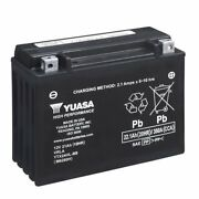 Motorcycle Battery Yuasa Ytx24hl-bs Bombardier-can Atv 650 Quest / Quest Xt 2002