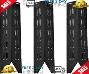 3 Pack Stainless Steel Heat Plate Replacement For Select Outdoor Gourmet Gas