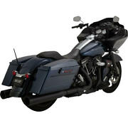 Vance And Hines Oversized 450 Destroyer Dual Slip-on Mufflers Black 46553