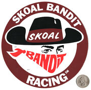Vintage Decal Skoal Bandit Drag Racing Don Prudhomme World Of Outlaws Funny Car