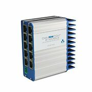 Veracity Camswitch 8 Mobile, 8+2 Port Low Voltage 802.3at Switch - 10 Ports -