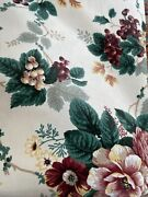Waverly Pleasant Valley Floral Fabric Scotch Guard 55andrdquox 108andrdquo 3 Yards