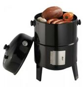 """Grillpro, Charcoal Smoker And Grill, 18"""", New In Box, Vertical Smoker- Sealed"""