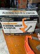 Central Pneumatic Contractor Series Floor Nailer Used Once