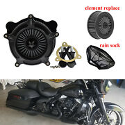 Air Filter Gray Element Rain Sock Fit For Harley Touring Trike 08-16 Softail 16