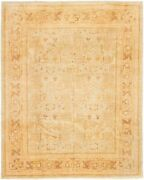 Vintage Tribal Area Rug 8and0390 X 9and03910 Authentic Oushak Hand Knotted Wool Carpet