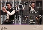 Hot Toys – Mms261 – Star Wars Episode Iv A New Hope 1/6th Scale Han Solo Toy