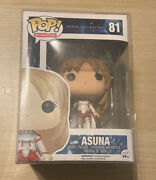 Funko Pop Sword Art Online - Asuna 81 Good Condition New With Protector