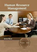Human Resource Management By Jesse Rose English Hardcover Book Free Shipping