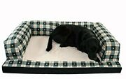 Hidden Valley Products Baxter Xx-large 40 X 60 Paw Plaid Couch