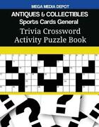 Antiques And Collectibles Sports Cards General Trivia Crossword Activity Puzzle