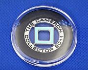 Scotty Cameron Gold Ball Marker Collector Member Limited Blue Tcc