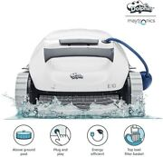 New Dolphin E10 Automatic Robotic Pool Cleaner With Easy Clean Top Load Filter