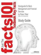 Studyguide For Bank Management And Financial Services By Rose, Peter, Isbn 97800