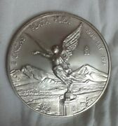 1998 Libertad 2oz .999 Silver , Extremely Difficult Find In The Wild