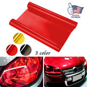Stickers For Car Headlight Taillight Fog Light Tint Protector Film Wrap Decals