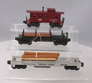 Lionel Vintage O Assorted Freight Car Lot 3469, 6361, 6357 [3]