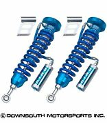 King Shocks Front Performance Series Front Kit For 2007-2020 Toyota Tundra