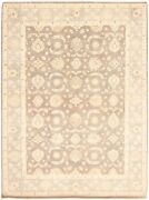 Vintage Tribal Area Rug 9and0392 X 12and0394 Authentic Oushak Hand Knotted Wool Carpet