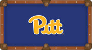 Pittsburgh Panthers Hbs Navy With Pitt Logo Billiard Pool Table Cloth