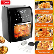 12l 1700w Oil Free Air Fryer Oven Toaster Rotisserie Dehydrator Countertop Oven