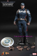 Hot Toys Mms242 1/6th Captain America Stealth S.t.r.i.k.e. Suit Action Figure