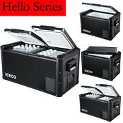 Iceco 47/65/80/95qt Dual Zone Portable Car Freezer Camping Travel Cooler 12/240v