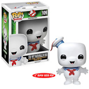 Stay Puft Marshmallow Man 109 Andndash Ghostbusters Pop Movies 6-inch Vinyl Figure