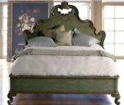 Thomasville Hills Of Tuscany King Mansion Bed Florentine Green Local Pickup Ohio
