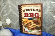 Western Bbq Cookbook By Publications International Recipes Book Food Free Ship
