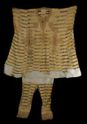 Hausa Boubou Outfit With Pants Yellow Nigeria African Art