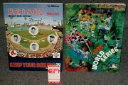 June 25 1975 Boston Red Sox Program With Ticket Stub And World Series Program