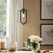 Retro Simpility Pendant Light Kitchen Dining Room Hanging Lamp Adjustable Height