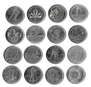 Canada Collection Of 16 Commemorative Coins 25 Cents 1992-2011 Lot 2. B17