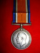 Ww1 British War Medal To Norman, Military Foot Police